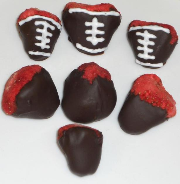 Chocolate Dipped FD Whole Strawberries