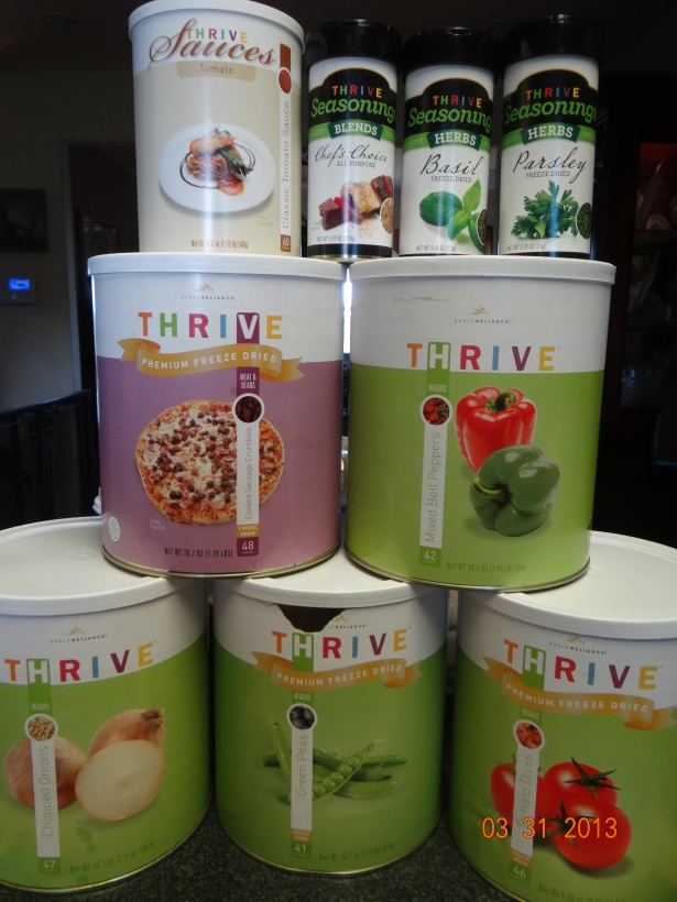 Thrive Ingredients