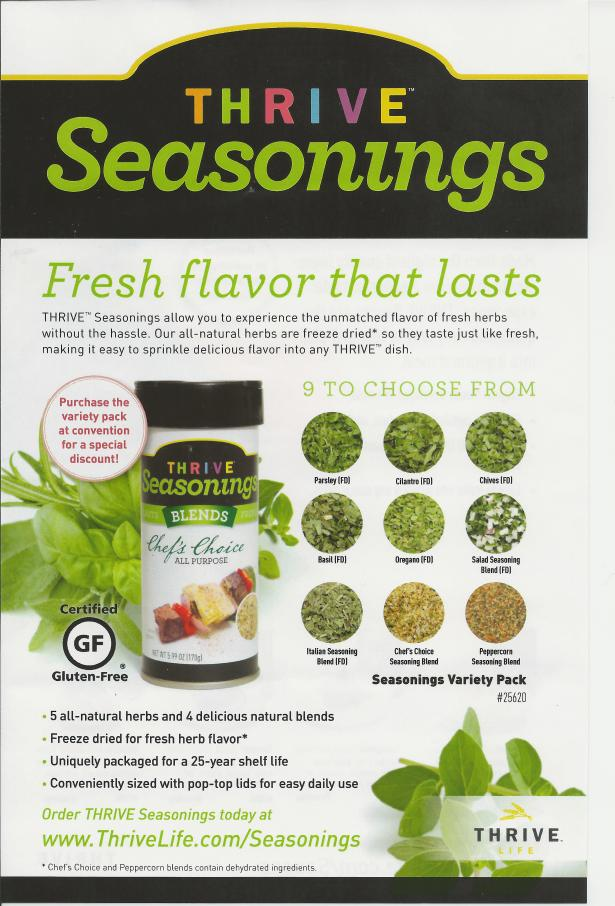 THRIVE Seasonings