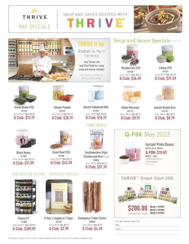 Flyer--May-Specials