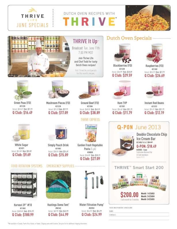 Flyer--June-Specials