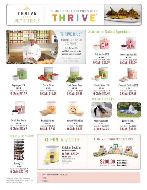 Flyer--July-Specials