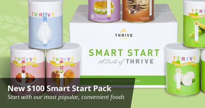 THRIVE Life: All New Smart Start 100 ~ A Taste Of THRIVE!